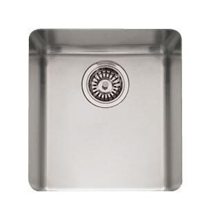 Franke KBX110 Kubus Series Undermount Single Bowl Sink in Stainless Steel