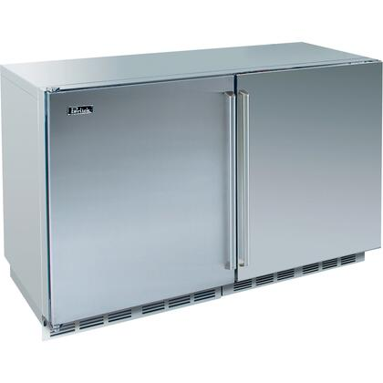 Perlick HP48FRS1L1RDNU Signature Series Counter Depth Side by Side Refrigerator with 12.3 cu. ft. Capacity