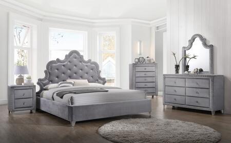 Meridian SOPHIEKPBDMNC Sophie King Bedroom Sets