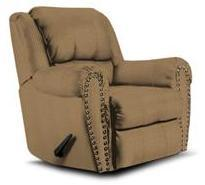 Lane Furniture 21414492517 Summerlin Series Transitional Fabric Wood Frame  Recliners
