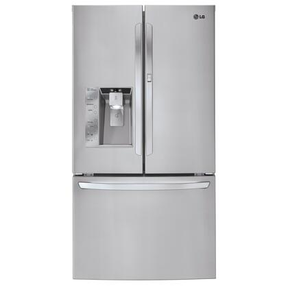 LG LFX32945ST LG Series  French Door Refrigerator with 32 cu. ft. Total Capacity Glass Shelves