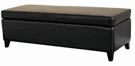 Wholesale Interiors 125023BLACK  Bench