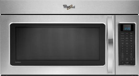 Whirlpool WMH53520AS 2.0 cu. ft. Capacity Over the Range Microwave Oven