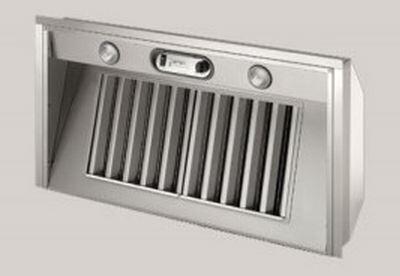 "BlueStar BSPMLSS28SS 28"" Professional Metal Liner with 3 Speed Fan, Stainless Steel Baffle Filters, X CFM Internal Fan and High Heat Sensor, in Stainless Steel"