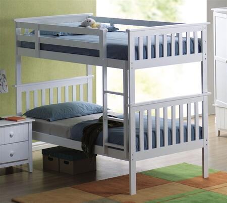 Yuan Tai AV1390T Avalon Series  Twin Size Bunk Bed