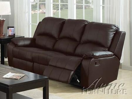 Acme Furniture 15210 Caray Series  Bonded Leather Sofa