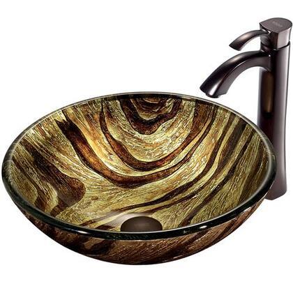 Vigo VGT193 Oil Rubbed Bronze Bath Sink