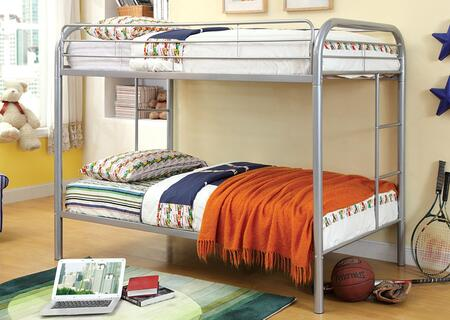 Furniture of America CMBK1032SV Rainbow Series  Twin Size Bed