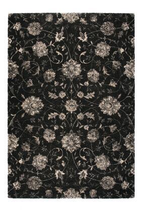 Citak Rugs 3740-050X Riverside Collection - Laurel - Charcoal