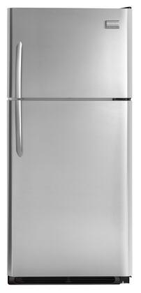 Frigidaire FGUI1849LF Freestanding Top Freezer Refrigerator with 18.2 cu. ft. Total Capacity 4 Glass Shelves 4.07 cu. ft. Freezer Capacity  Appliances Connection