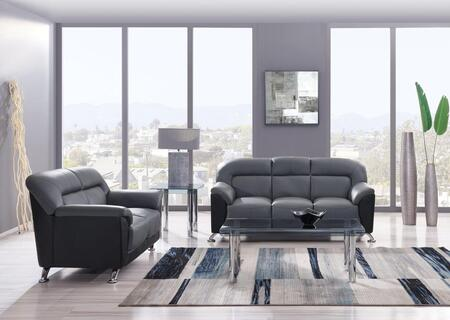 Global Furniture U9102DGRBLSOFAL U9102 Living Room Sets