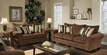 Chelsea Home Furniture 1837033950SL Clearlake Living Room Se