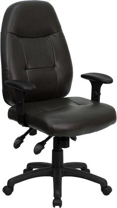 """Flash Furniture BT2350BRNGG 27"""" Contemporary Office Chair"""