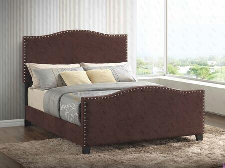 Glory Furniture G2572QBUP G2570 Series  Queen Size Panel Bed