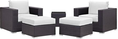 Modway EEI2201EXPWHISET Rectangular Shape Patio Sets