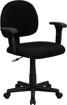 "Flash Furniture BT6601BKGG 25"" Contemporary Office Chair"