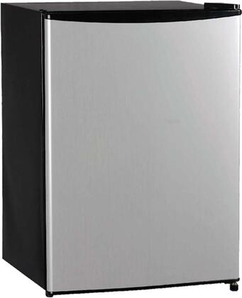 Equator REF95R28VCM  Compact Refrigerator with 2.8 cu. ft. Capacity in Stainless Steel