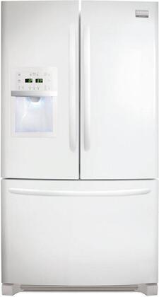 Frigidaire FGHF2369MP Gallery Series Counter Depth Bottom Freezer Refrigerator with 22.6 cu. ft. Total Capacity 6.9 cu. ft. Freezer Capacity 4 Glass Shelves