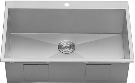 Excellent Ruvati Tirana Collection Single Bowl Kitchen Sink With 16 Home Interior And Landscaping Palasignezvosmurscom