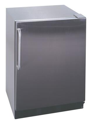 Summit ALFB621CSSAM  Stainless Steel  Freezer with 4.0 cu. ft. Capacity