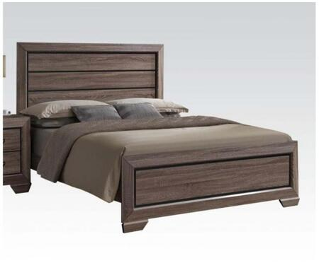 Acme Furniture 26020Q Lyndon Series  Queen Size Panel Bed