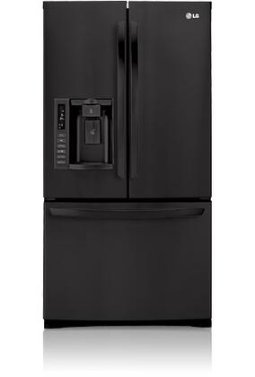 LG LFX28978SB  French Door Refrigerator with 27.6 cu. ft. Total Capacity 4 Glass Shelves