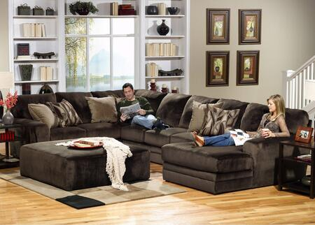 "Jackson Furniture Everest Collection 4377-62-30-76- 163"" 3-Piece Sectional with Left Arm Facing Section with Corner, Armless Sofa and Right Arm Facing Chaise in"