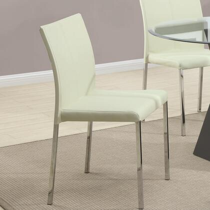 Coaster 103733 Ophelia Series Contemporary Vinyl Metal Frame Dining Room Chair
