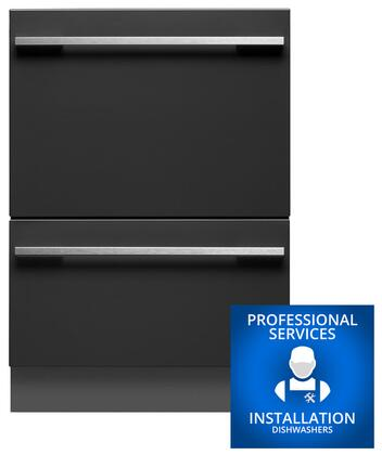 Fisher Paykel DD24DHTI7INSTALL Built-In Dishwashers