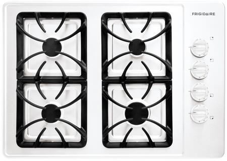 Frigidaire FFGC3015LW  Gas Sealed Burner Style Cooktop with 4 Burners  |Appliances Connection