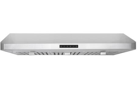 Windster WS-48 Stainless Steel Under Cabinet Mount Range Hood with dual High-Performance 3 Speed Turbine Impeller Motors