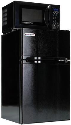 MicroFridge 3.1MF4-7D 3.1 cu. ft. Compact Refrigerator with Freezer, 700 Watt Microwave, Internal Smoke Sensor, USB Charging Station and Safe Plug Technology in