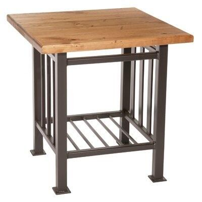 Stone County Ironworks 901152OAK  End Table