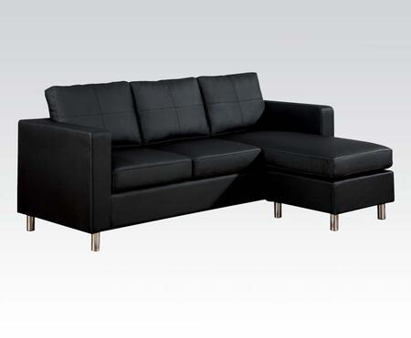 Acme Furniture 15065 Kemen Series Stationary Bycast Leather Sofa