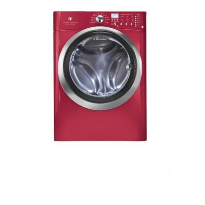 "Electrolux EIFLS60JRR 27"" Front Load Washer with 4.33 cu. ft. Capacity 11 Wash Cycles 1300 RPM Steam Cycle 