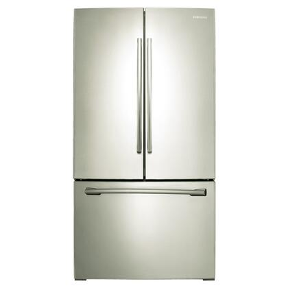 "Samsung Appliance RF261BEAESP 36""  French Door Refrigerator with 25.5 cu. ft. Total Capacity 5 Glass Shelves 