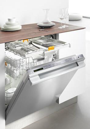 Miele G5775SCSFSS  Built-In Fully Integrated Dishwasher with in Stainless Steel
