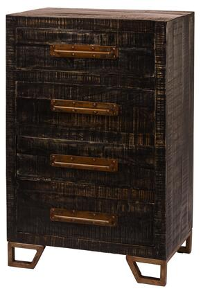 Hillsdale Furniture 5806892 Bridgewater Series Freestanding Wood 4 Drawers Cabinet