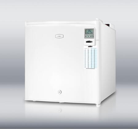 Summit FFAR2L7MEDDT MEDDT Series Freestanding Compact Refrigerator with 1.8 cu. ft. Capacity, 1 Wire ShelfField Reversible Doors