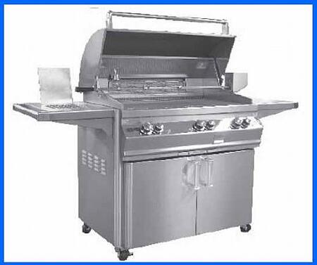 FireMagic E790S2L1P62 Freestanding Grill, in Stainless Steel