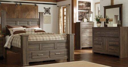 Milo Italia BR371KPSBSDM Reeves King Bedroom Sets