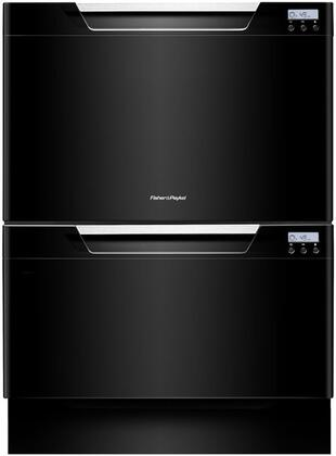"""Fisher Paykel DD24DCB7 Semi-Integrated 9 14 Place Settings Capacity 24""""Yes Built-in Dishwasher 