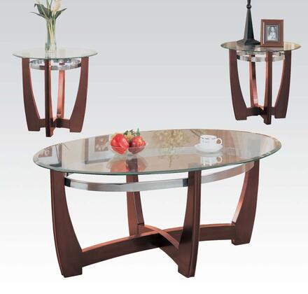 Acme Furniture 07806 Contemporary Living Room Table Set