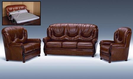 VIG Furniture DALLASB Modern Leather Living Room Set