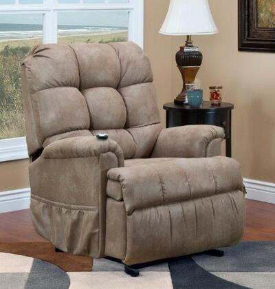 MedLift 5555STM Contemporary Fabric Wood Frame  Recliners