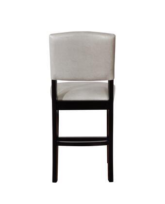 Fantastic Linon Cs225Gry01U Monaco Collection Counter Height Stool Machost Co Dining Chair Design Ideas Machostcouk