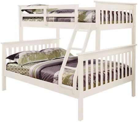 Donco 1223W  Full Size Bunk Bed