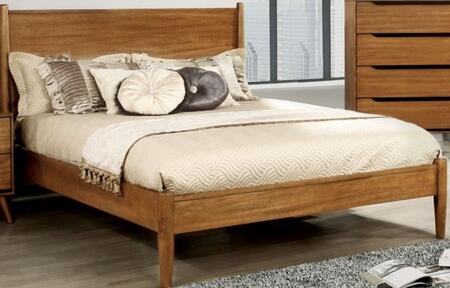 Furniture of America CM7386AFBED Lennart Series  Full Size Panel Bed