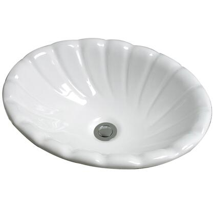 Cole and Co. 1115240216 Coventry Undermount Porcelain Traditional Style Single Bowl Sink in