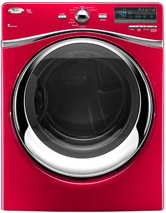 Whirlpool WED94HEXR Duet Steam Series 7.4 cu. ft. Electric Dryer, in Red